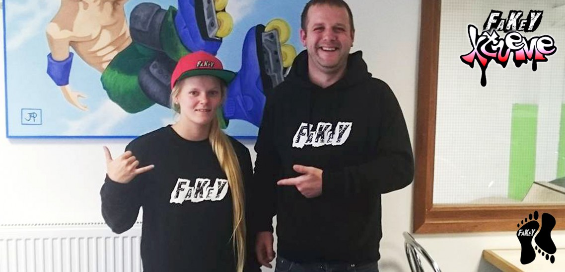 Fakey Xtreme Welcomes Inline Skater Kayla